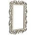 Ornate Rectangle Open Wood Frame - 3