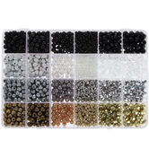 Metallic & Neutral Bead Mix