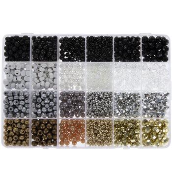 Metallic & Neutral Bead Mix