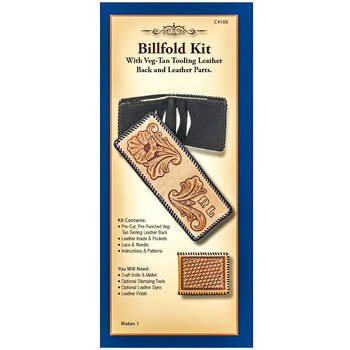 Basic Leather Billfold Kit