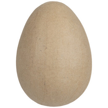 """Paper Mache Egg - 4"""""""