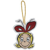 Grinch Cindy Lou Who Ornament