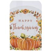 Happy Thanksgiving Silverware Holders