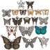 Butterfly Charms
