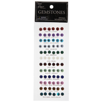 Birthstone Rhinestone Stickers
