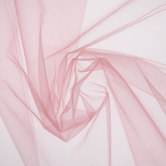 Dusty Rose Nylon Tulle Fabric