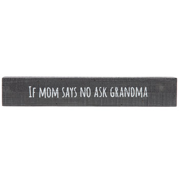 Ask Grandma Wood Wall Decor