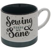Sewing Keeps Me Sane Mug