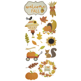 Welcome Fall Stickers