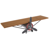 Airplane Wood Wall Shelf