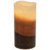 Ginger Spiced Muffin Layered LED Pillar Candle