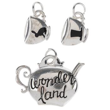 Wonderland Tea Set Charms
