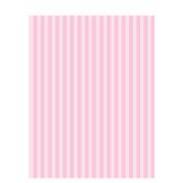 "Baby Girl Striped Scrapbook Paper - 8 1/2"" x 11"""