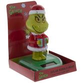 Dr. Seuss The Grinch Solar Bobble Head