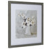 Watercolor Bouquet Framed Wood Wall Decor