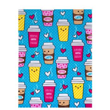 Coffee Cups Felt Sheet