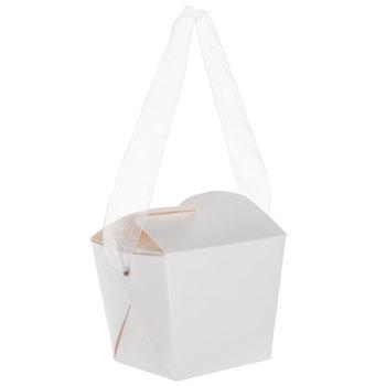 Mini White Take Out Boxes