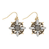 Vintage Look Flower Earrings