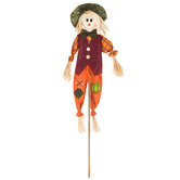 Scarecrow With Green Hat Stake