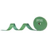 """Green Glitter Ribbon - 7/8"""""""