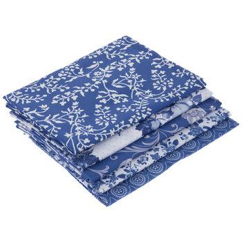 Blue Floral Fat Quarters