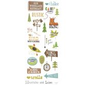 Woodland Retreat Stickers