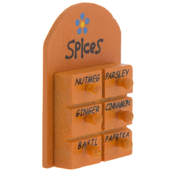 Miniature Spice Rack