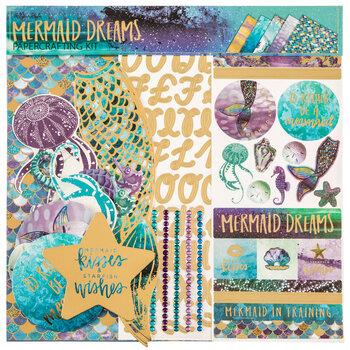 "Mermaid Dreams Scrapbook Kit - 12"" x 12"""