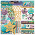 Mermaid Dreams Scrapbook Kit - 12