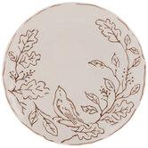 Cream Birds & Berries Plate