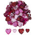 Pink & Red Acrylic Hearts