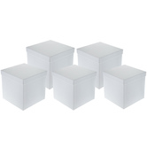 White Nested Square Box Set