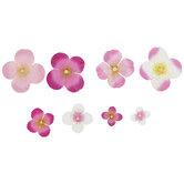 Watercolor Hydrangea Flower Embellishments