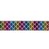 Rainbow Mermaid Scale Taffeta Ribbon - 1 1/2
