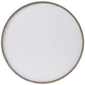 Whitewash Round Blank Wood Wall Decor