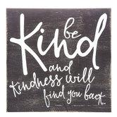 Be Kind Wood Decor