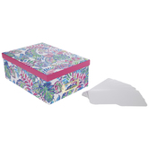 Colorful Leaves Photo Storage Box