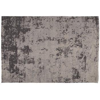 Gray Woven Chenille Rug