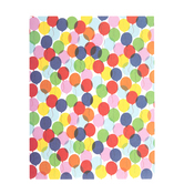 "Party Balloons Scrapbook Paper - 8 1/2"" x 11"""