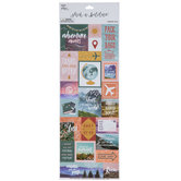 World Traveler Stickers