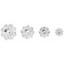 Crystal Marguerite Lochrose Swarovski Beads