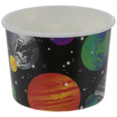 Space Paper Snack Cups