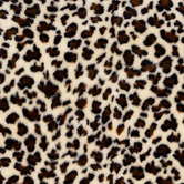Velvet Leopard Faux Fur Fleece Fabric