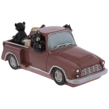 Camping Bears Driving Truck