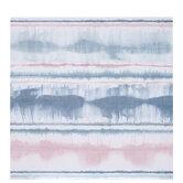 "Pink & Blue Watercolor Striped Scrapbook Paper - 12"" x 12"""