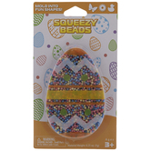 Pink, Blue & Yellow Egg Squeezy Beads