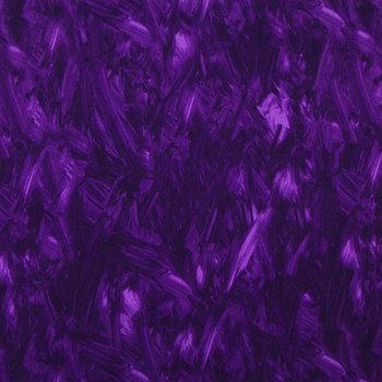 Purple Paint Strokes Cotton Calico Fabric