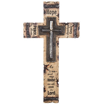 As For Me & My House Wall Cross