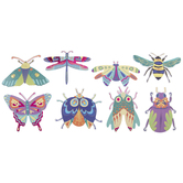 Beautiful Bugs Stickers