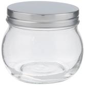 Round Glass Mason Jar